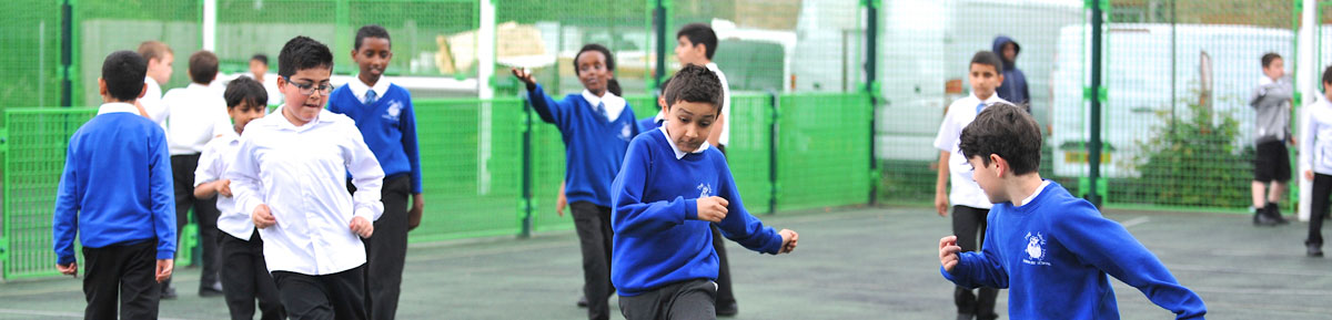 norbury school children playing